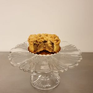 Tartelette appel walnootcrumble (per 5 stuks)