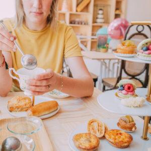 Luxe high tea in de patisserie (per persoon)